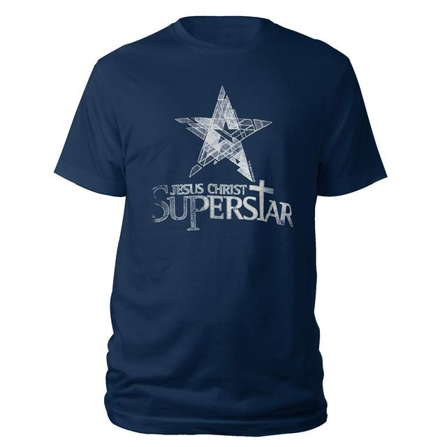 Really Useful Group Jesus Christ Superstar Logo Navy T-shirt