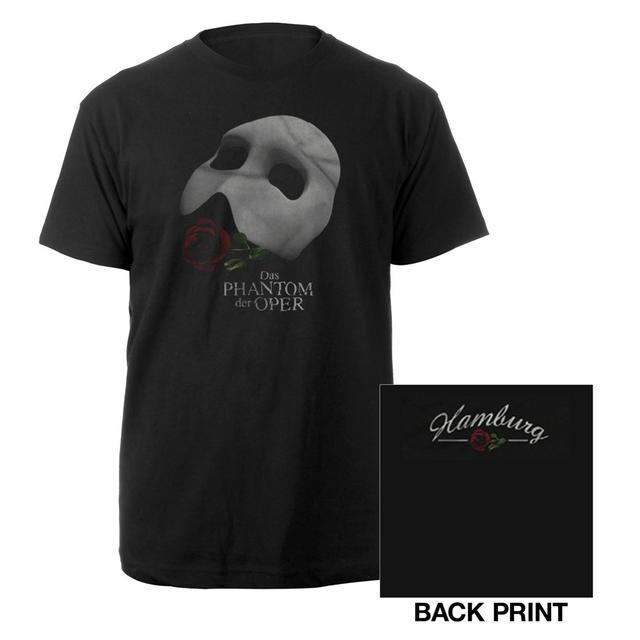 Really Useful Group Black Phantom Of The Opera T-shirt German Production
