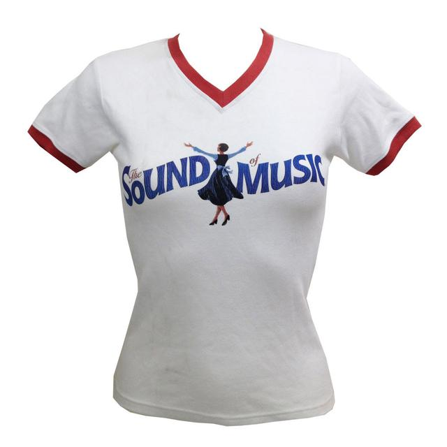Really Useful Group The Sound of Music Logo V Neck T-Shirt