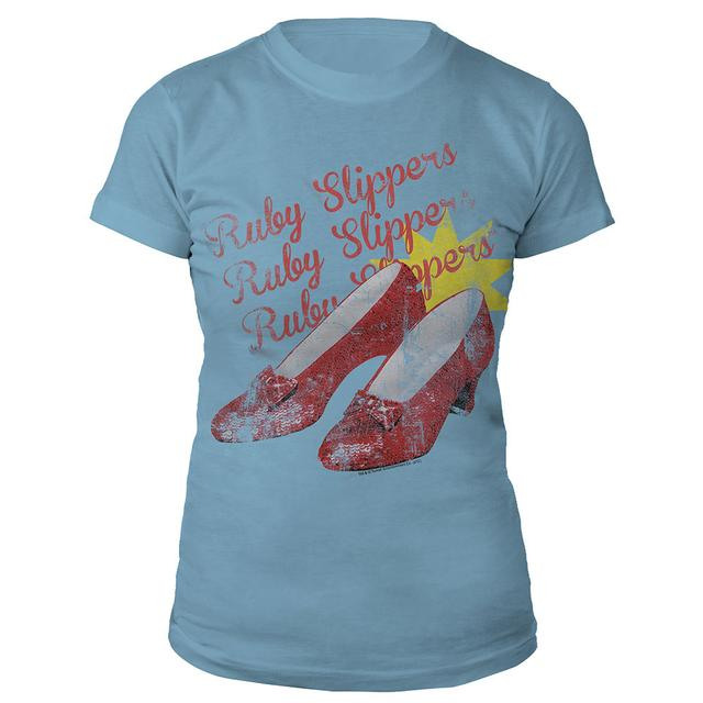 Really Useful Group Wizard of Oz Ruby Slippers Juniors Shirt