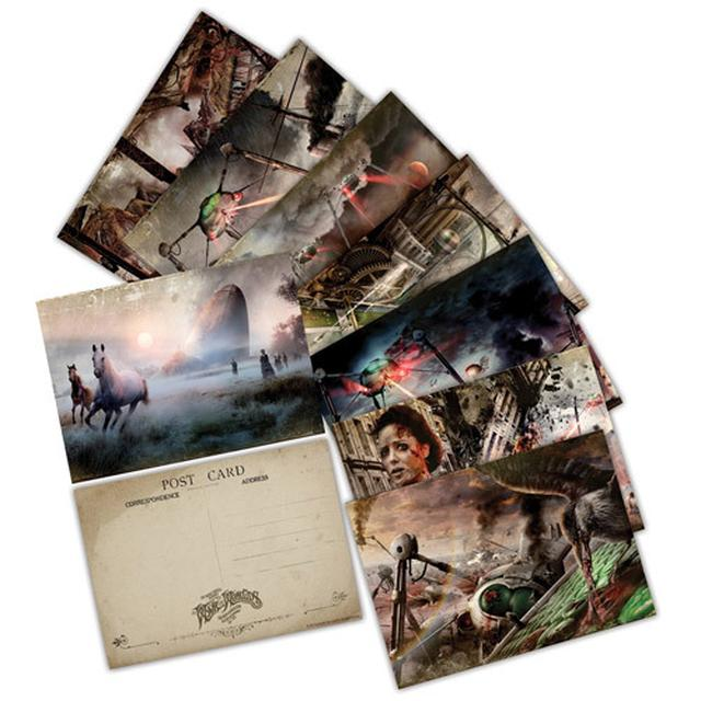 The War Of The Worlds TWOTW Set of 8 Postcards