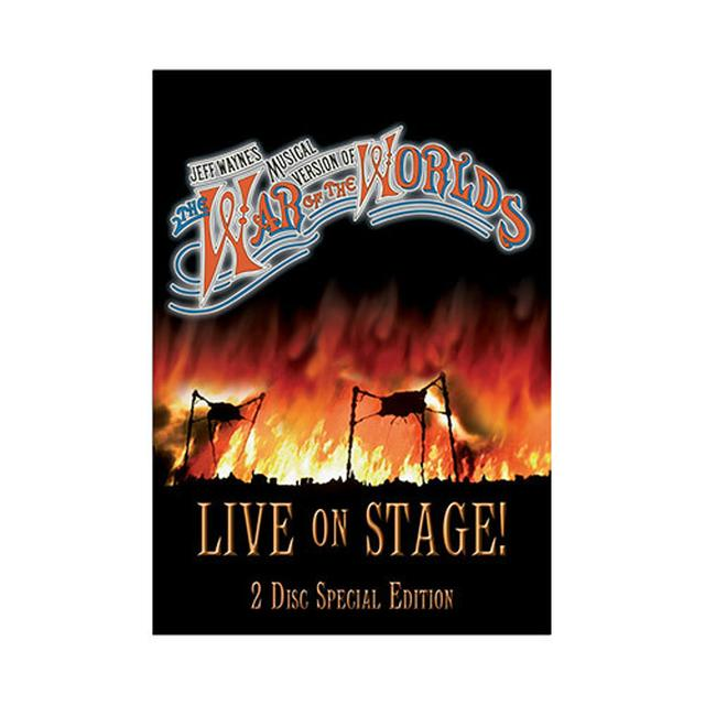 TWOTW The War Of The Worlds Live:Special Edition 2006 (DVD)