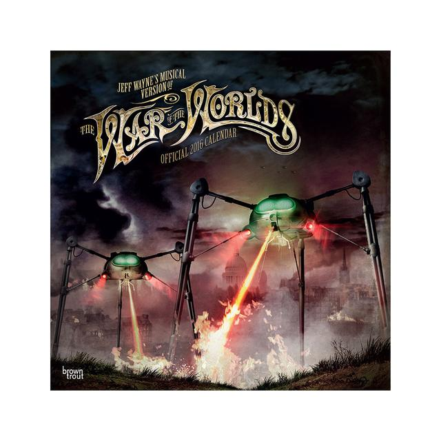 The War Of The Worlds TWOTW Official 2016 Calendar