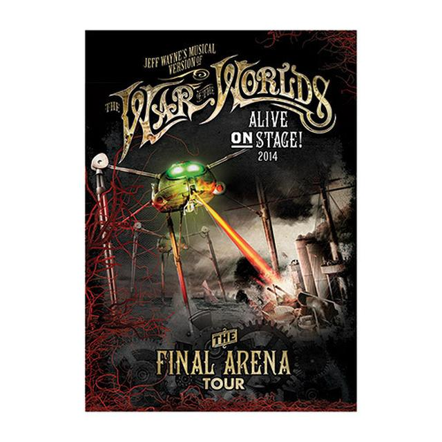 The War Of The Worlds TWOTW MFM A3 Lithograph