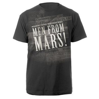 The War Of The Worlds TWOTW Men are from Mars 2014 Charcoal T-shirt