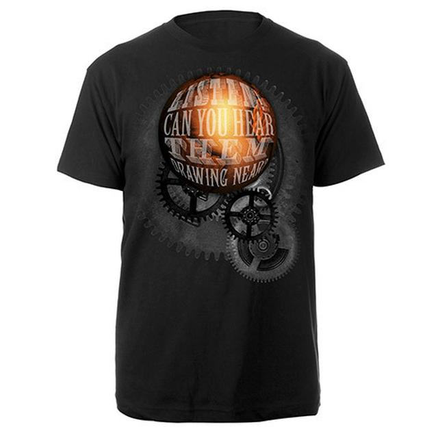 The War Of The Worlds TWOTW Globe 2014 Black T-shirt