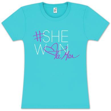 Tamar Braxton Tamar #Shewon Girlie T-Shirt