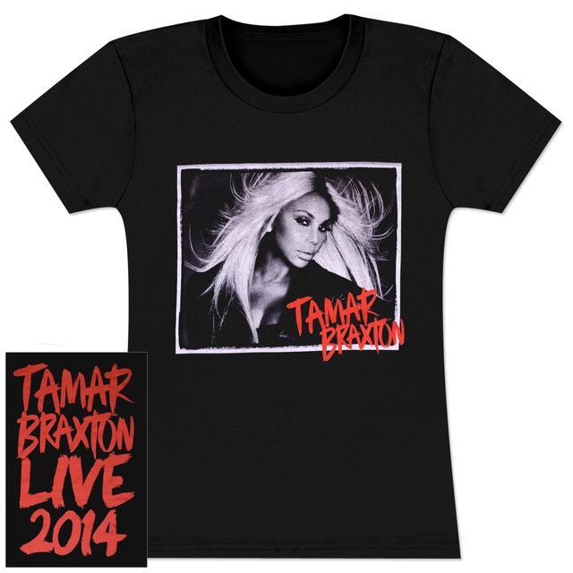 Tamar Braxton Tamar Live 2014 Ladies T-Shirt