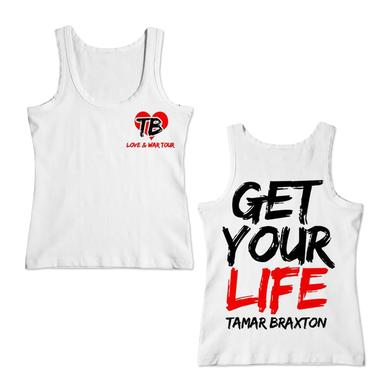 Tamar Braxton Get Your Life Girls Tank Top