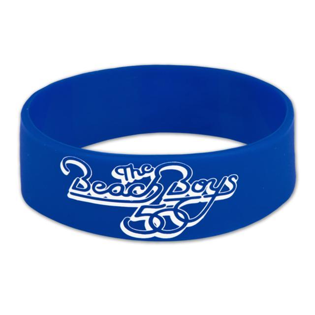 The Beach Boys Blue Rubber Bracelet