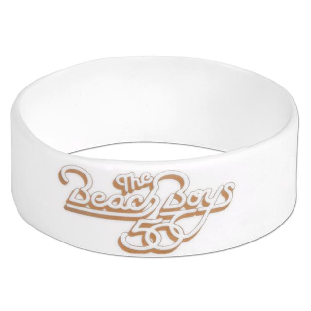 The Beach Boys White Rubber Bracelet