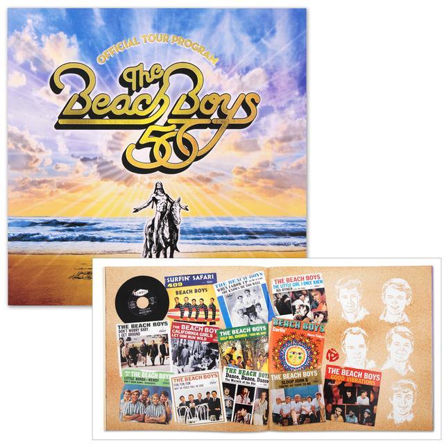 The Beach Boys 50th Anniversary Tour Program