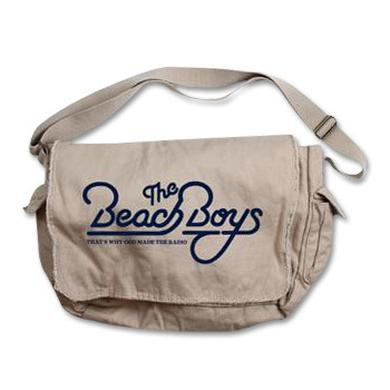 Beach Boys 50th Messenger Bag on Natural