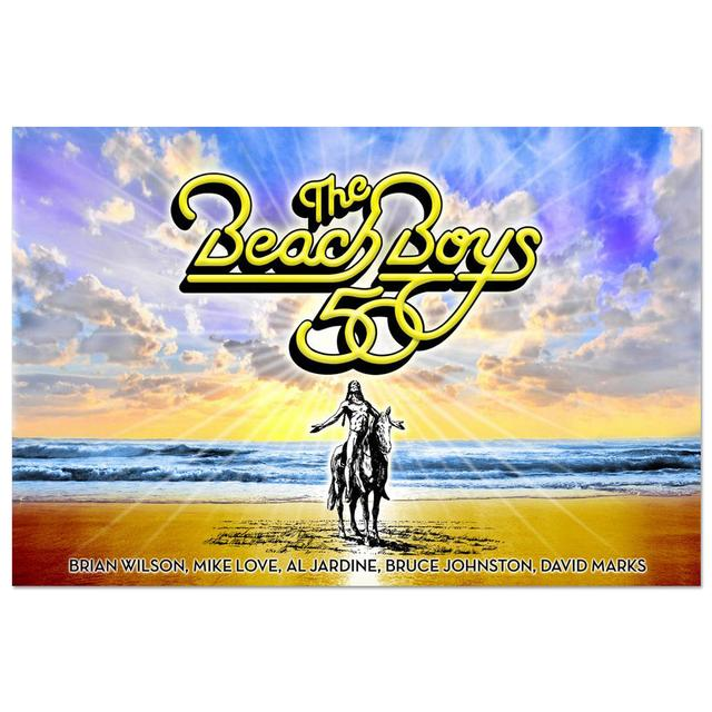 The Beach Boys 50th Anniversary Poster