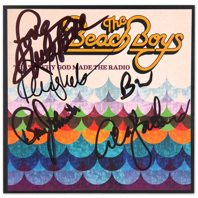 The Beach Boys That's Why God Made the Radio Autographed CD