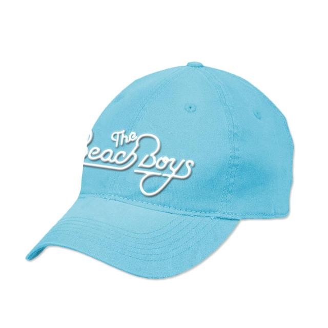 Beach Boys White Logo Blue Hat