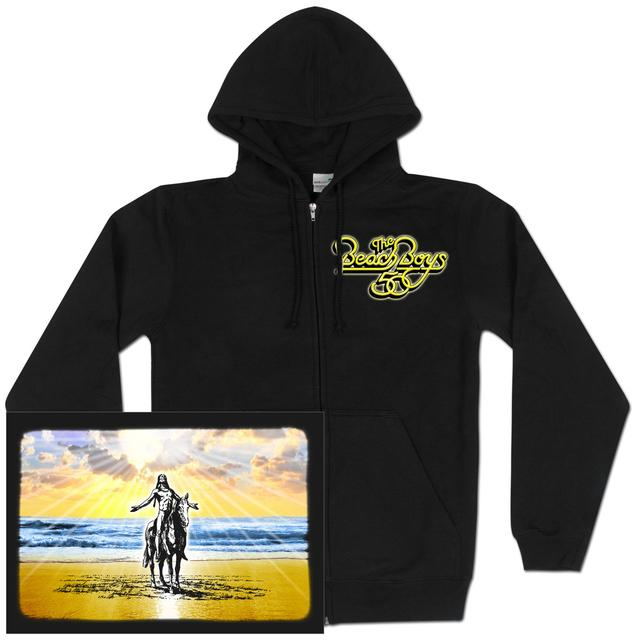 The Beach Boys Logo Zip Hoodie