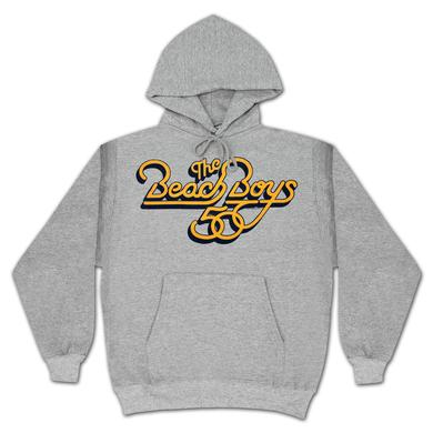 The Beach Boys 50th Pullover Hoodie on Heather Grey