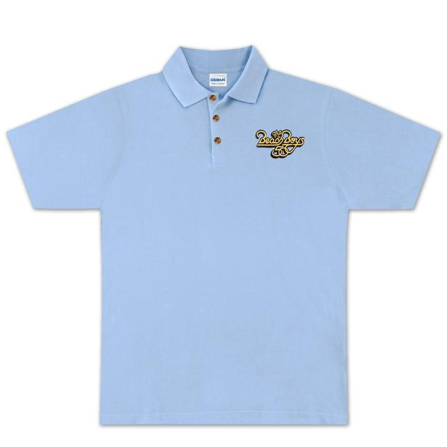 The Beach Boys 50th Polo on Light Blue