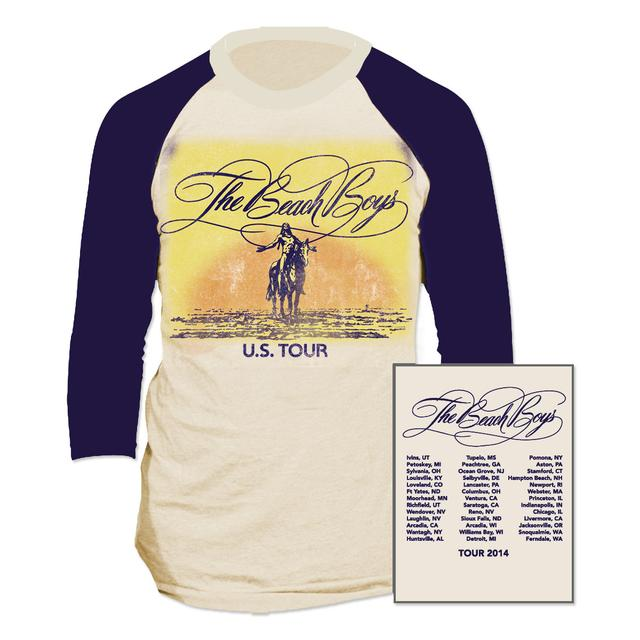 Beach Boys Vintage Tour Raglan