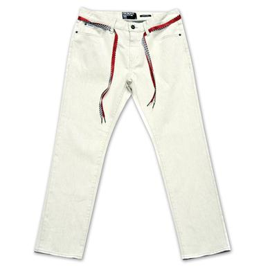 Young Money Trukfit Denim Jeans (White)