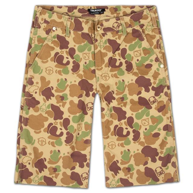 Young Money Trukfit Camo Cargo Shorts
