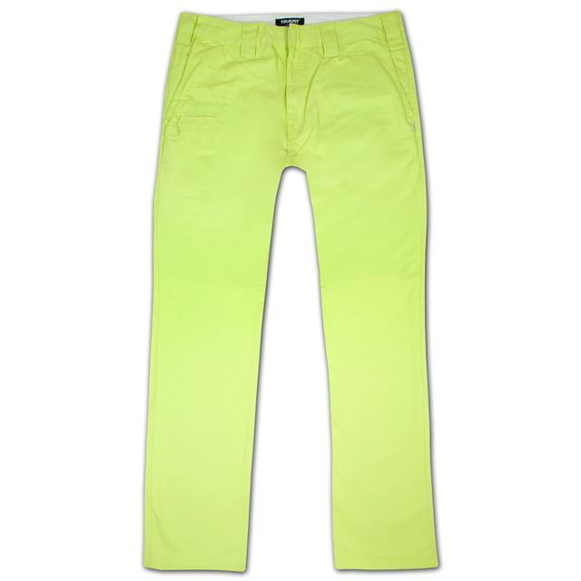 Young Money Trukfit Twill Trouser Sharp Green