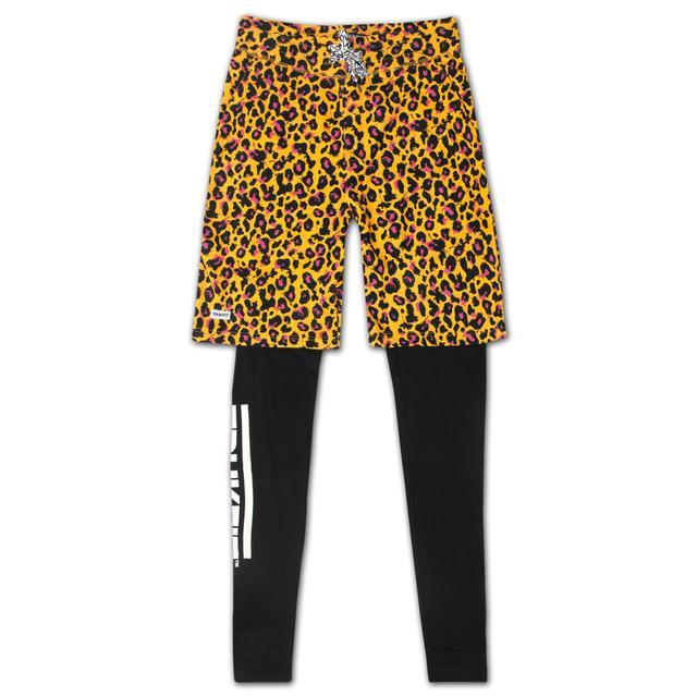 Young Money Trukfit Truk Cheetah Double Layered Sweatpants