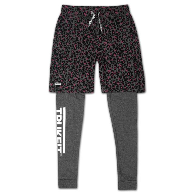 Young Money Trukfit Truk Cheetah Double Layered Sweatpants