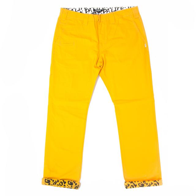 Young Money Trukfit Twill Trouser Yellow