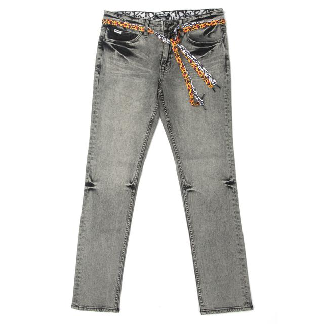 Young Money Trukfit Denim Jeans (Black Acid Wash)