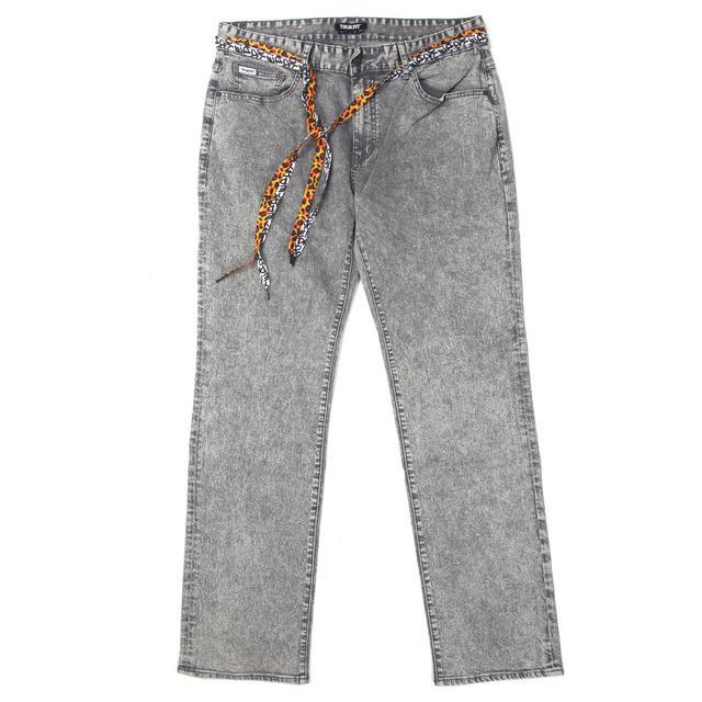 Young Money Trukfit Acid Denim Jeans (Grey)