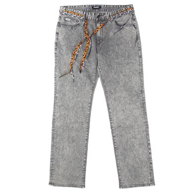 Young Money Trukfit Acid Denim Jeans (Grey)