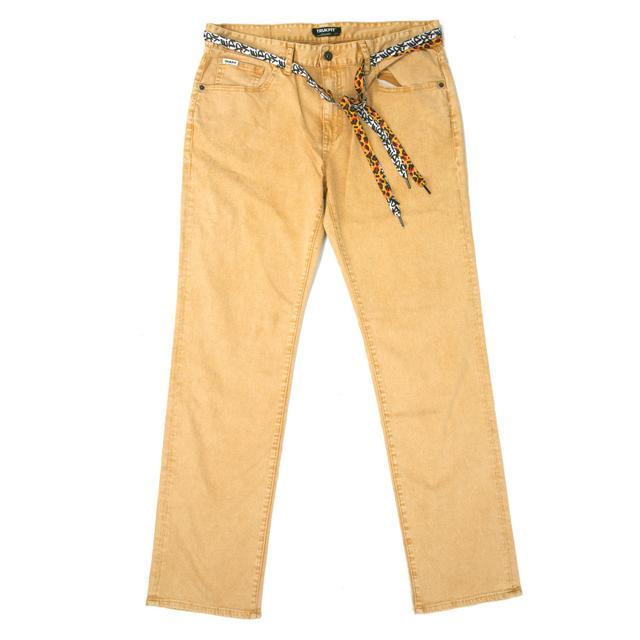 Young Money Trukfit Acid Denim Jeans (Citrus)