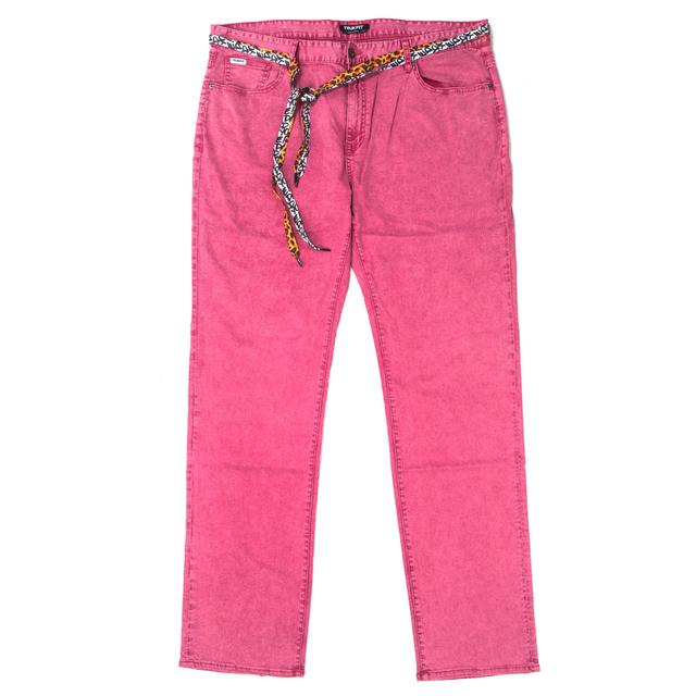 Young Money Trukfit Acid Denim Jeans (beetroot purple)
