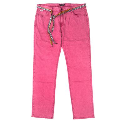 Young Money Trukfit Acid Denim Jeans (beetroot purple)