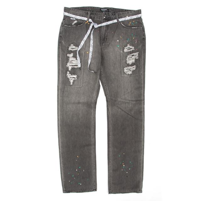 Young Money Trukfit D Splatter Straight Jeans