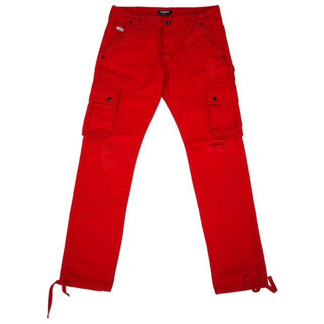 Young Money Trukfit Solid Twill Cargo Pants