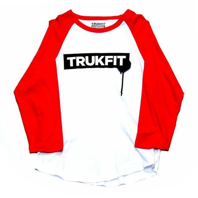 Young Money Trukfit ¾ Sleeve Drip Raglan Shirt