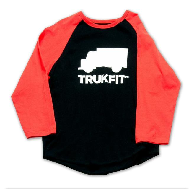 Young Money Trukfit ¾ Sleeve Truk Logo Raglan Shirt