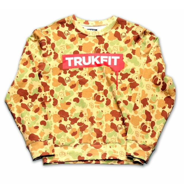 Young Money Trukfit Truk Drip Crewneck Sweatshirt