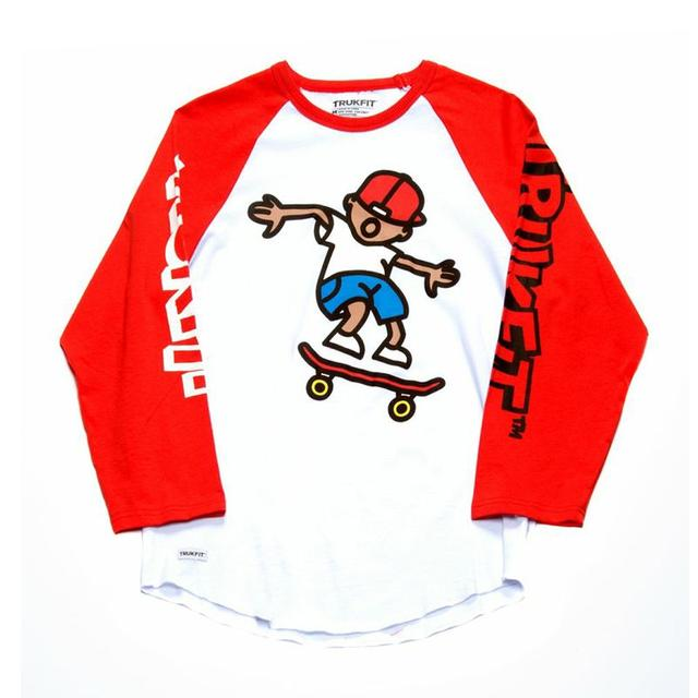 Young Money Trukfit ¾ Sleeve Ollie Tommy Raglan Shirt