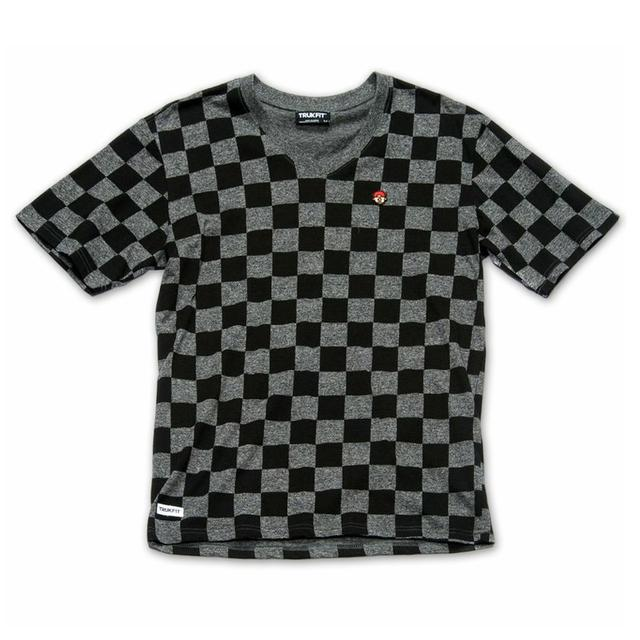 Young Money Trukfit Checkerboard V-NeckT-Shirt