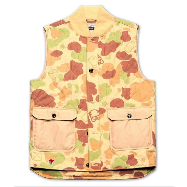 Young Money Trukfit Sand Camo Vest