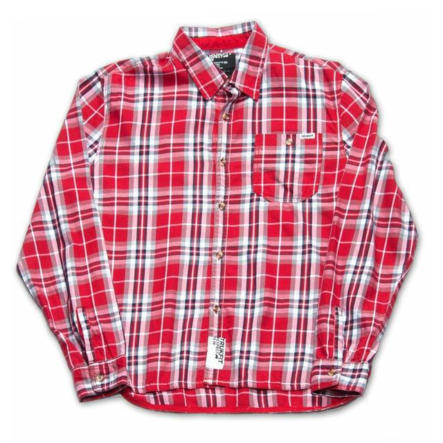 Young Money Trukfit Plaid Woven Shirt