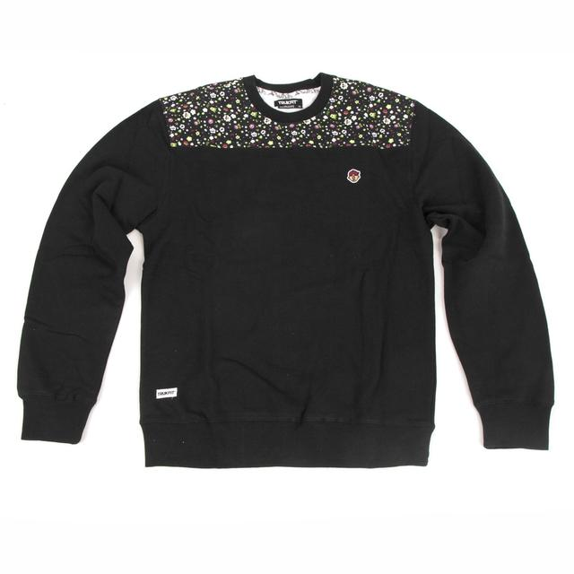 Young Money Trukfit CUT N SEW TRIPPY Crew Sweatshirt