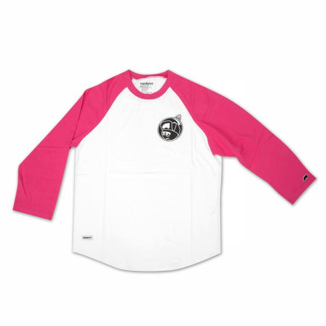 Young Money Trukfit Martian 3/4 Sleeve Raglan (Pink)