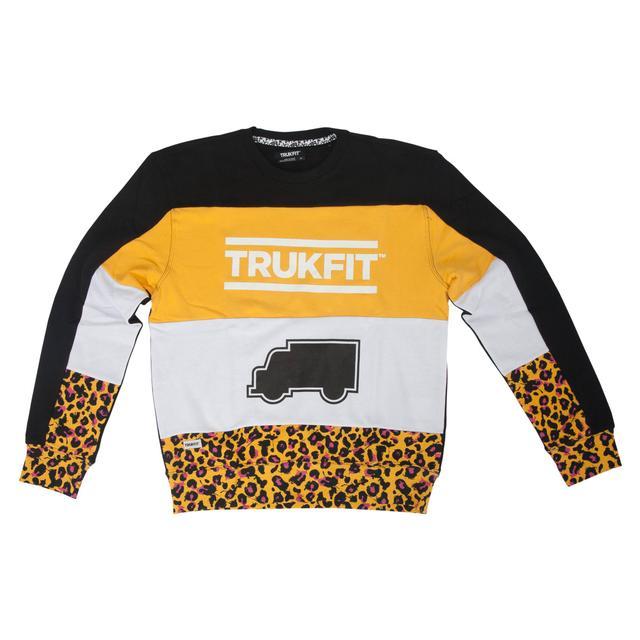Young Money Trukfit Truk Cheetah Crew Sweatshirt