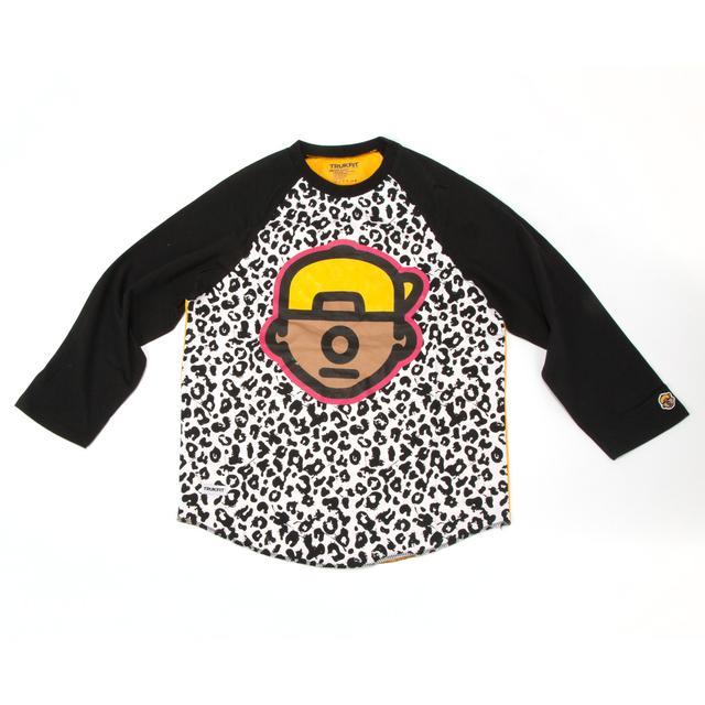 Young Money Trukfit Truk Cheetah 3/4 Sleeve Raglan
