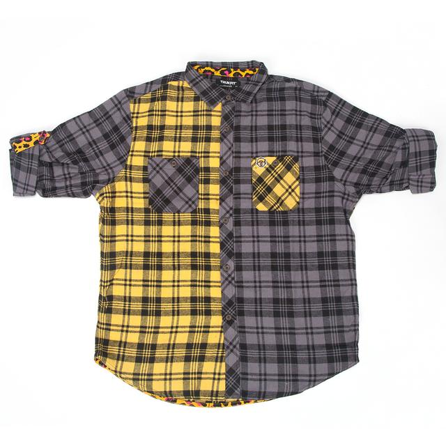 Young Money Trukfit Blocked Woven Shirt